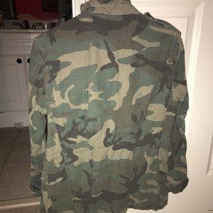 Free People Jackets & Coats - Free People camo utility jacket